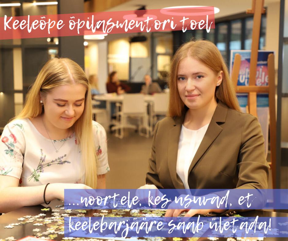 Keeleõpe õpilasmentori toel