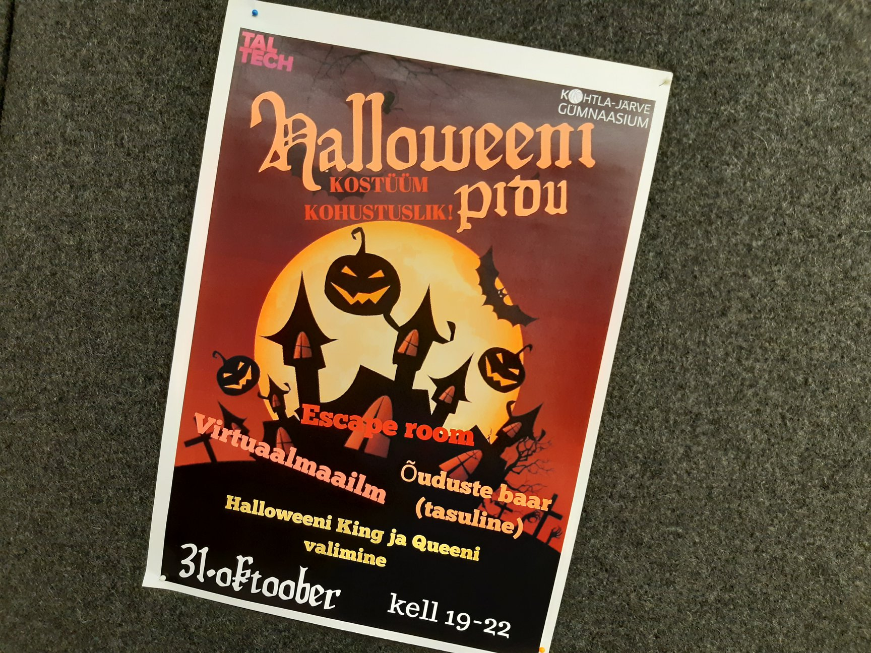 You are currently viewing Koolipere pidu: Halloween