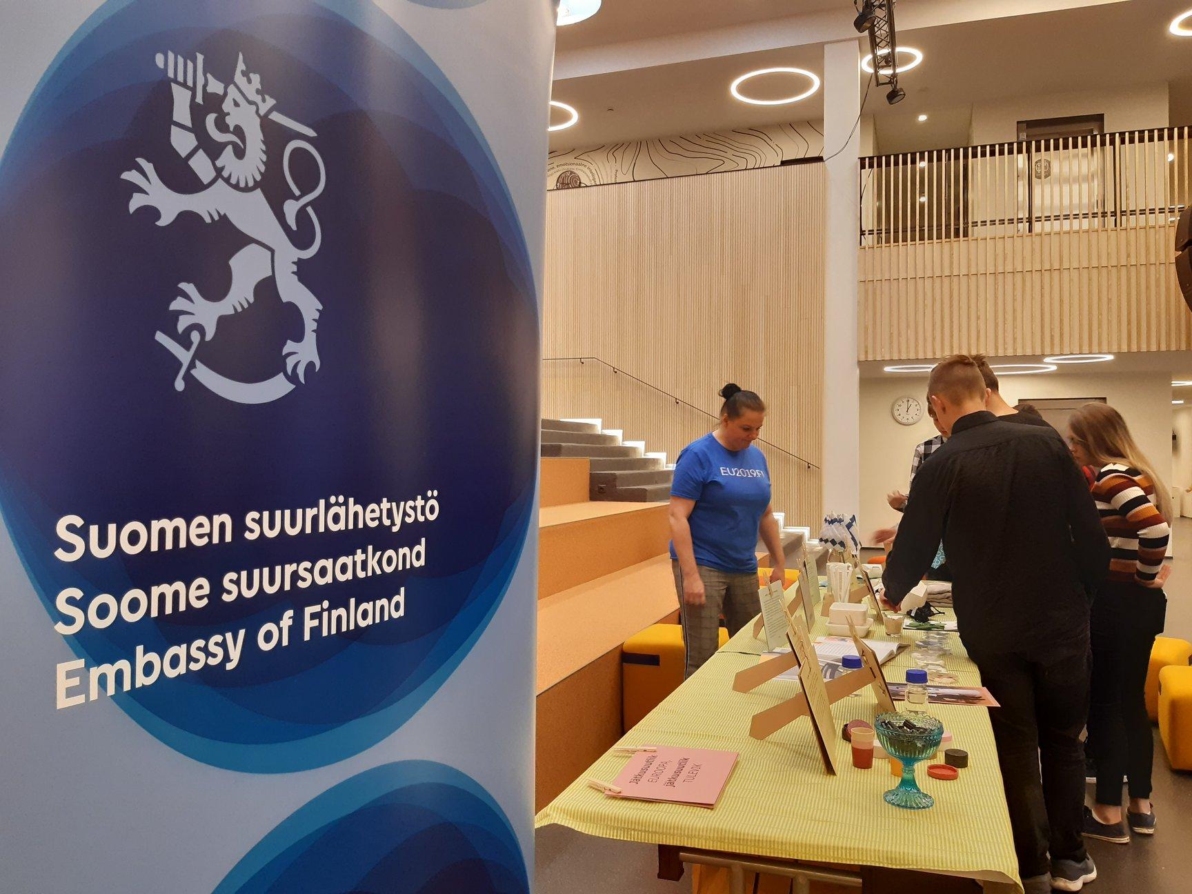 Soome saatkonna ringmajandusnäitus