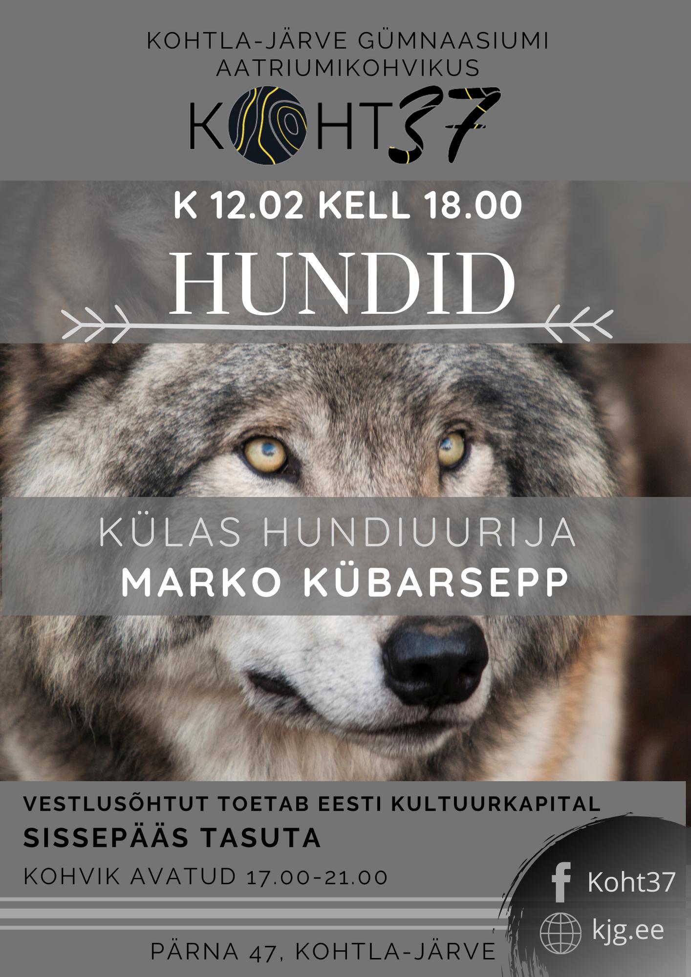 KOHT37: Marko Kübarsepp – Hundid