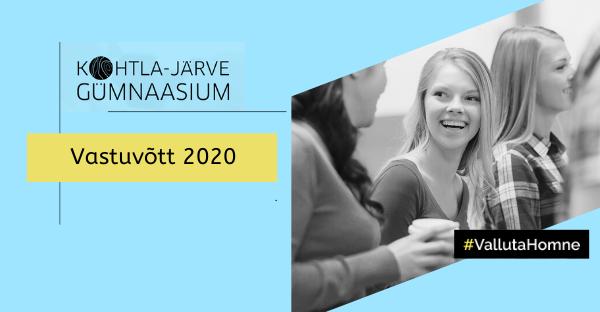 Kohtla-Järve Gümnaasiumi sisseastumine 2020/2021 õppeaastal