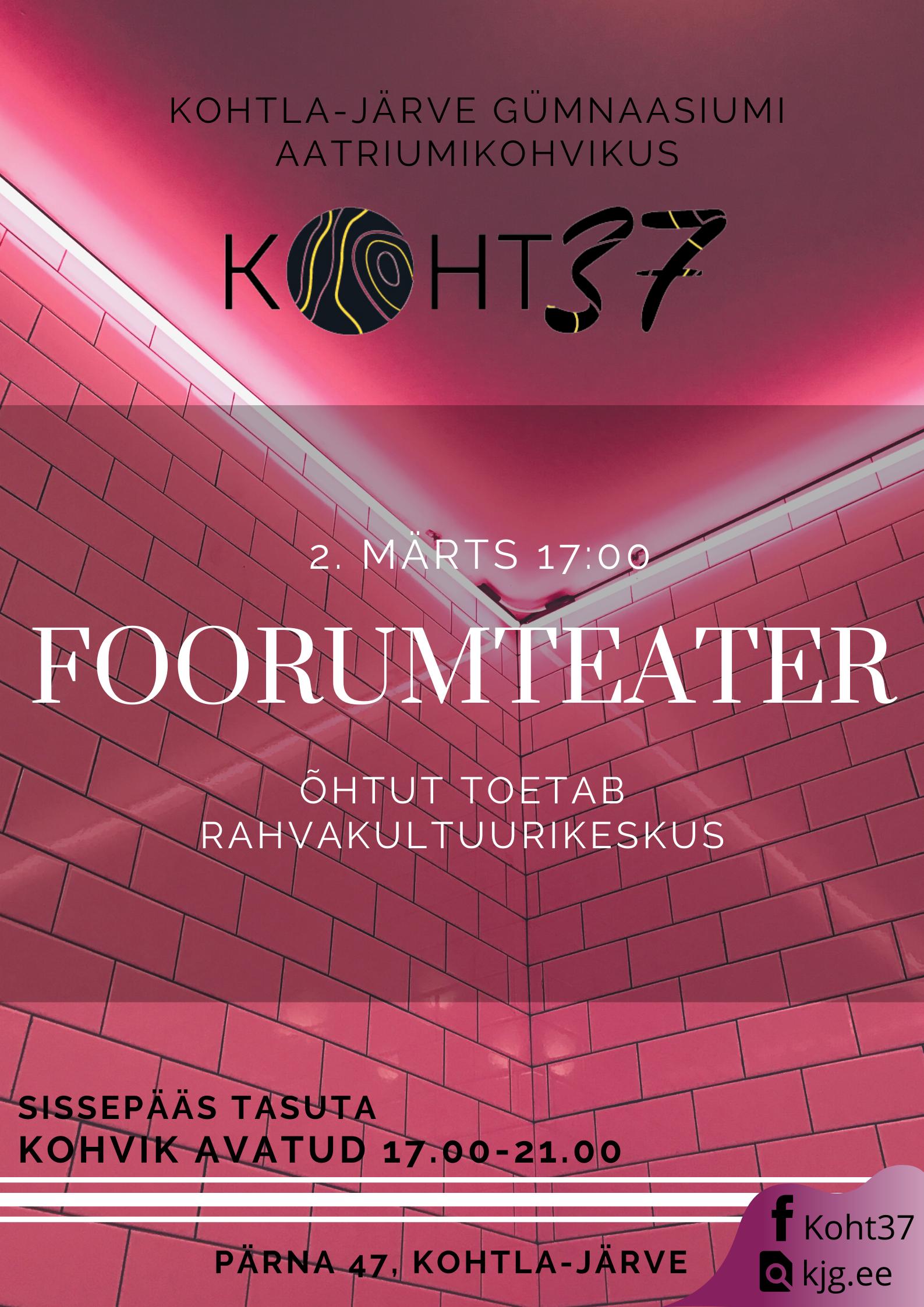 KOHT37: Foorumteater