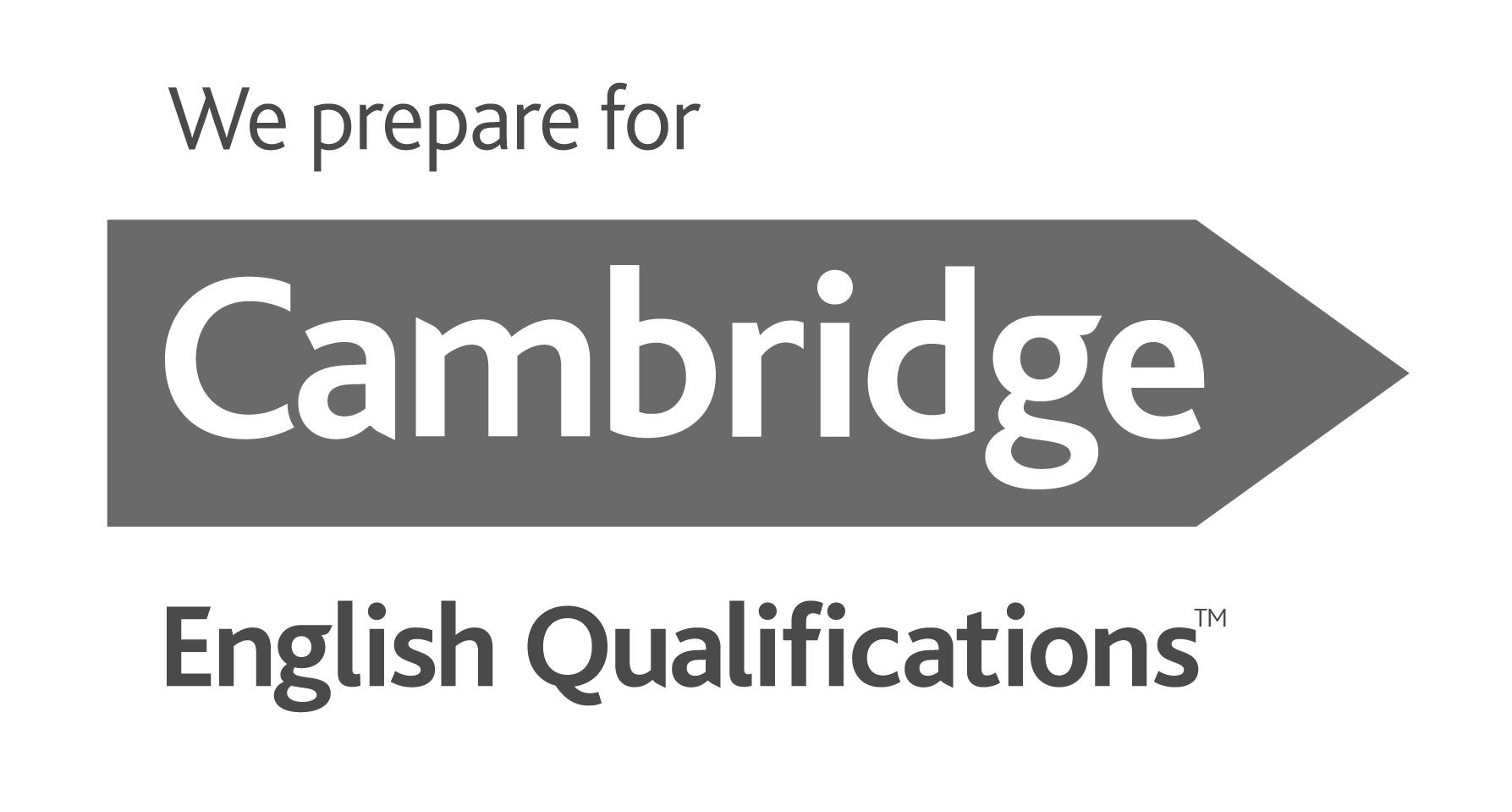 "Kool kannab sertifikaati ""Cambridge Assessment English Preparation Centre"""