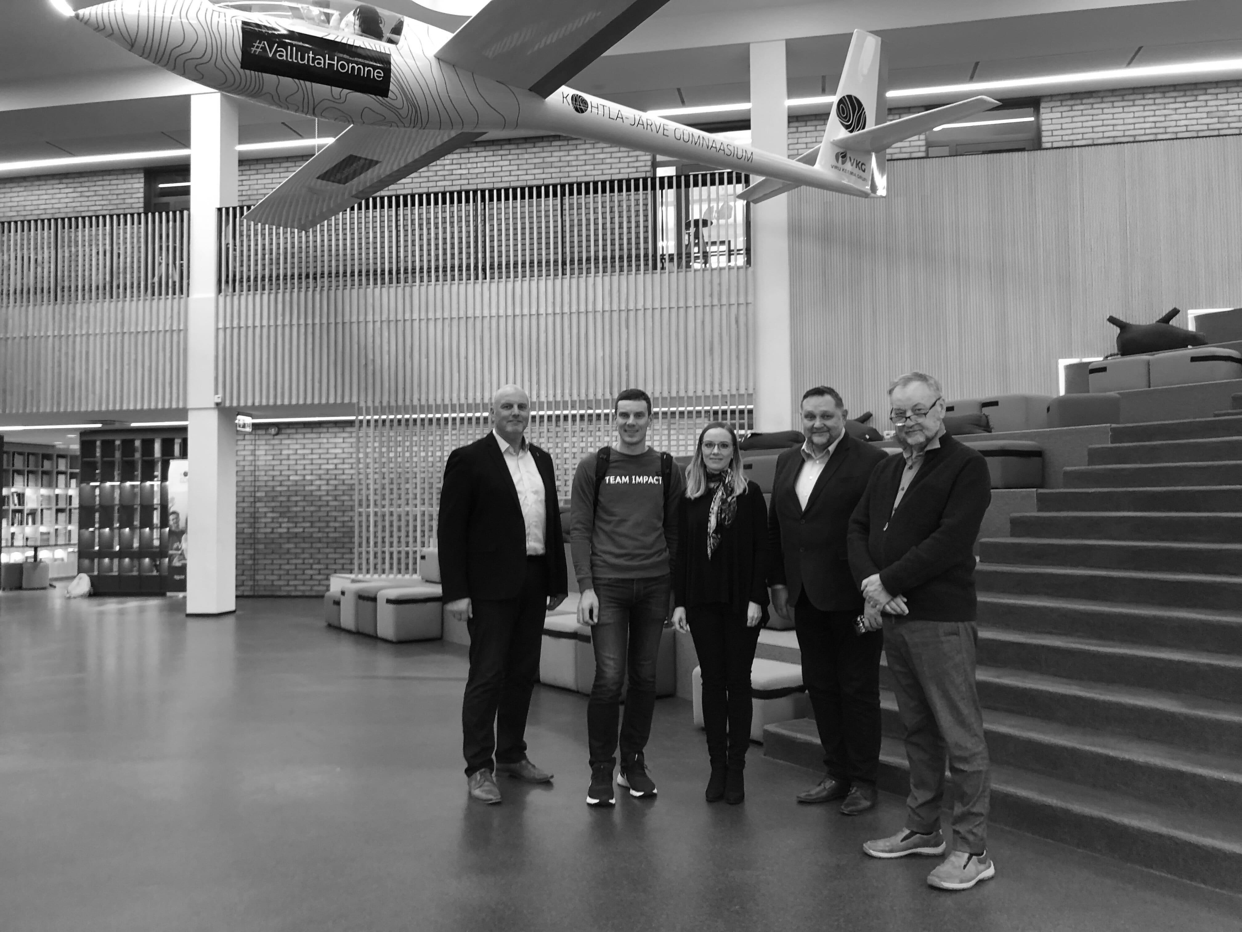 Loengu pidasid tehnoloogiaettevõtjad Martin Villig ja Vahur Ausmees