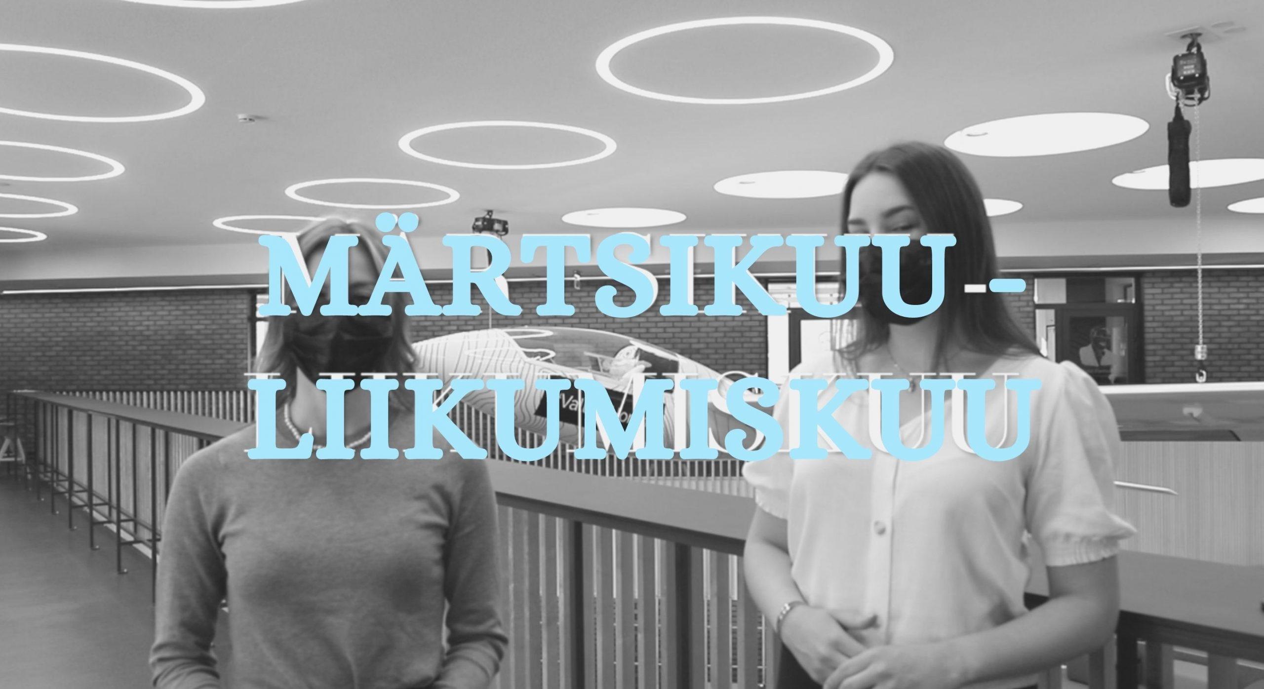 Read more about the article Kohtla-Järve Gümnaasium kuulutab märtsikuu liikumiskuuks!