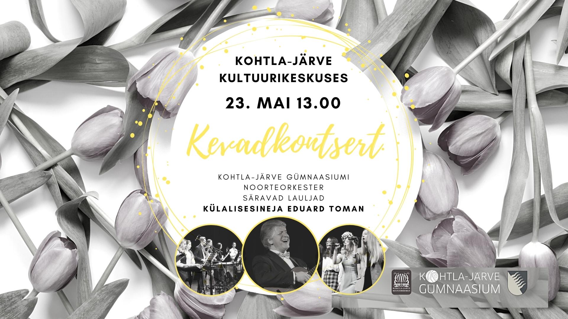 Kevadkontsert Kohtla-Järve Kultuurikeskuses
