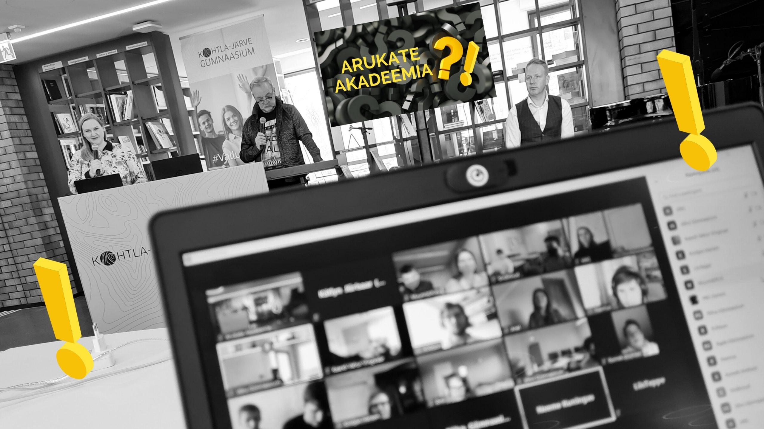 Riigigümnaasiumite mälumänguturniiri Arukate Akadeemia esimene voor peetud!