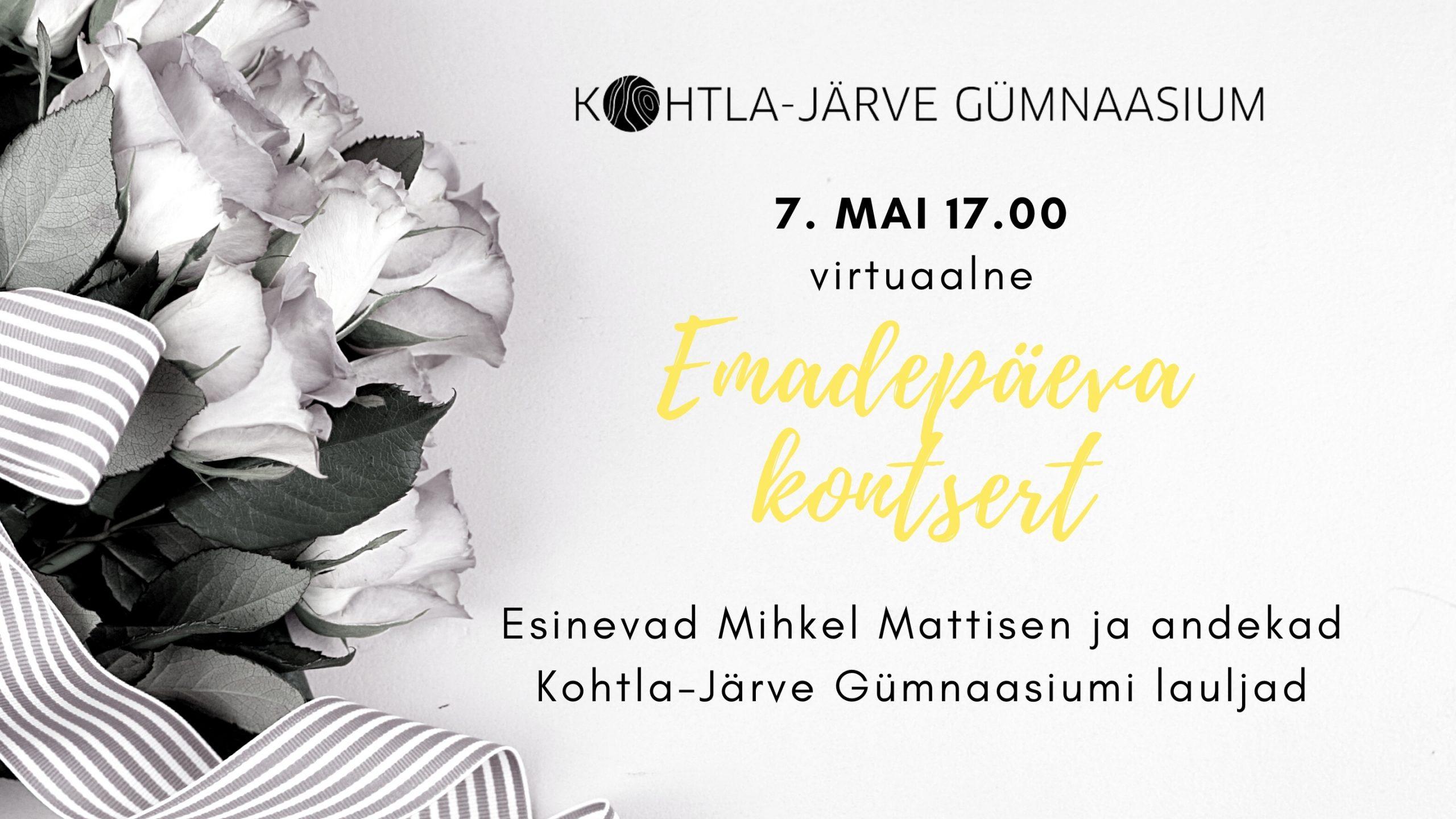 Virtuaalne emadepäeva kontsert!