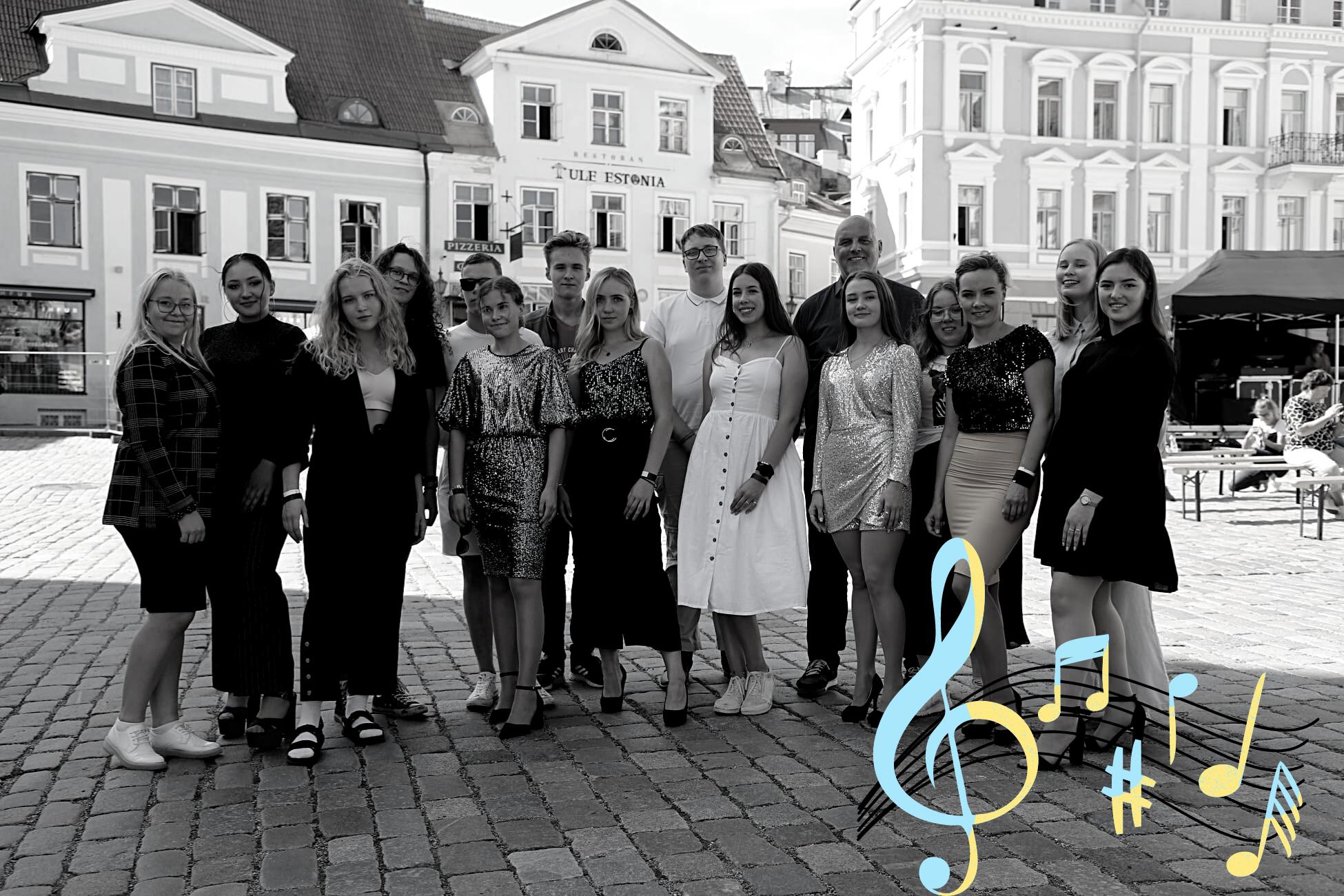 Read more about the article Noorteorkestri ja lauljate kontsertreis Tallinna 12.-13.08
