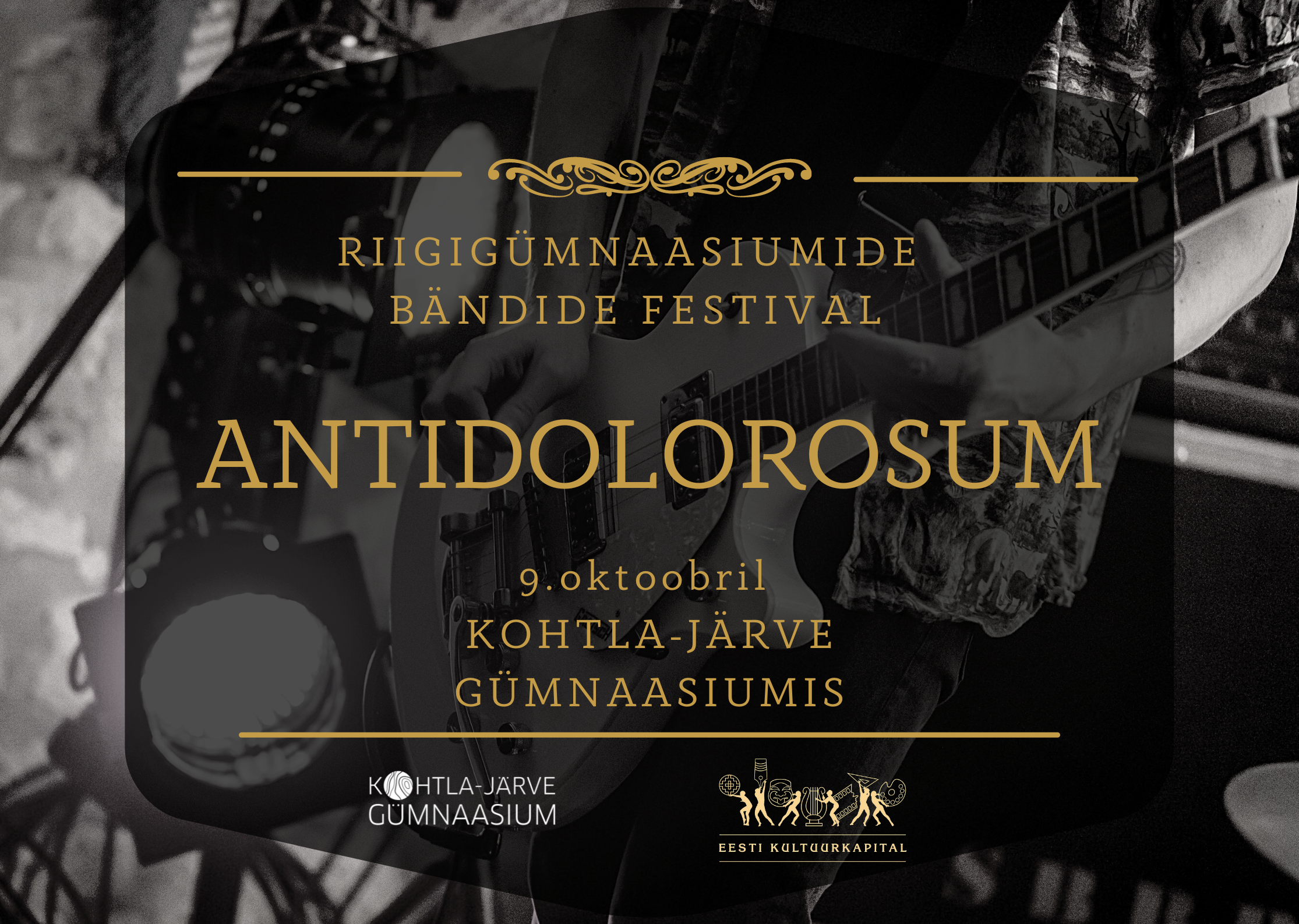 """Read more about the article Riigigümnaasiumide bändide festival """"Antidolorosum"""""""