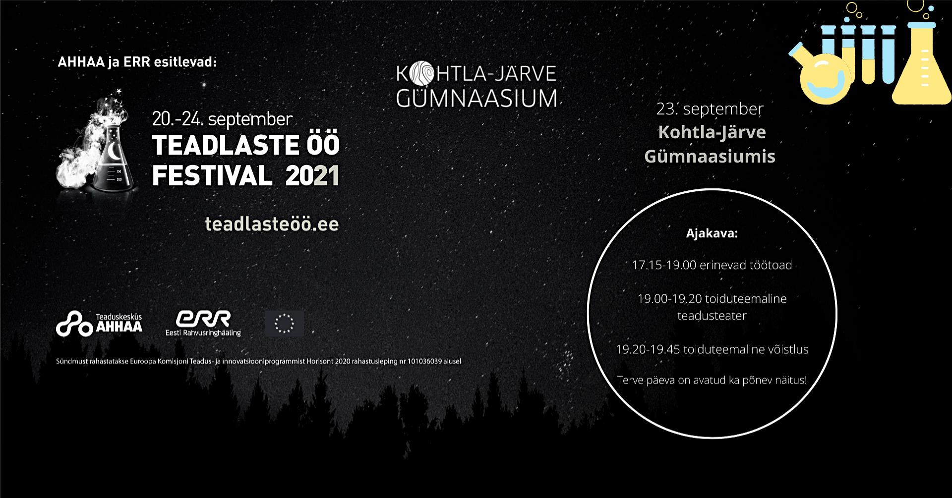 Read more about the article Teadlaste öö festival 2021